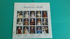 American Dolls Issue Stamp Sheet of 15 3151 Mint.