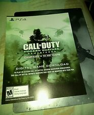Call Of Duty Modern Warfare Remastered -Infinite​ Warfare PS4 (read description)