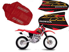 KIT SEAT COVER & TANK DECALS  HONDA XR250R xr 250 2000SHIPPING WORLDWIDE