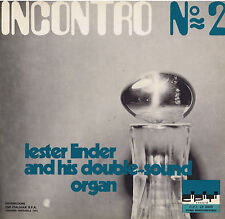 LESTER LINDER his double sound organ incontro LP library 1972 prog psych CiPiTi