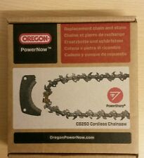 Genuine Oregon CS250 Replacement PowerNow Chainsaw Chain &Grinder Shoe 566336 A4