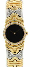 Ladies Bvlgari Parentesi 18k Yellow Gold/SS/Diamonds BJ01