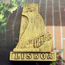 Portugal Lisbon Tourist Travel Souvenir 3D Resin Decorative Fridge Magnet Craft