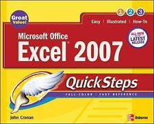 Microsoft Office Excel 2007 QuickSteps (Quicksteps)-ExLibrary