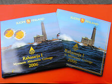 *Finnland  Original KMS 2006* 1 Cent-2 Euro und 2 Euro Gedenkmünze im Blister