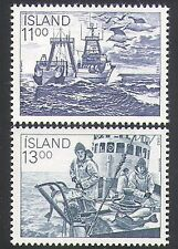 Iceland 1983 Fishing/Boats/Trawler/Fish/Industry/Commerce/Transport 2v (n34702)