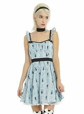 DISNEY's ALICE IN WONDERLAND RUFFLE BACK DRESS NWT Size Extra Small