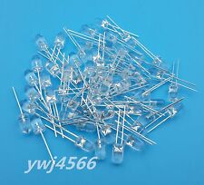 1000pcs 5MM White Super Bright Round White LED Lamp