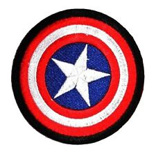 New Captain America shield HERO Embroidered Patch Iron on, sew Decorate clothes
