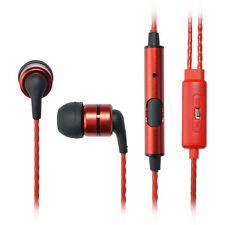 SoundMAGIC E80S In Ear Isolating Earphones with Mic - Red - NEW