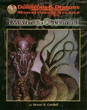 AD&D - DAWN OF THE OVERMIND 9572 avventura TSR monstrous arcana NEW SEALED