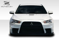 Duraflex Evo X Look Frnt Bumper Cover 1 Pc for 08-15 Mitsubishi Lancer 106953