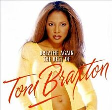NEW Breathe Again: The Best Of Toni Braxton by Toni Braxton CD (CD) Free P&H