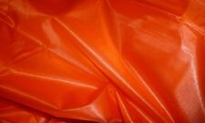 5.5 yards PARACHUTE RIPSTOP NYLON ORANGE MATERIAL FABRIC RO92
