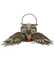 VL3971 Flying Owl Bucket Bethany Lowe HalloweenTrick or Treat Pumpkin Fall Scary
