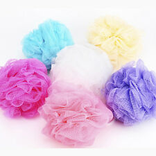 Body Cleaning Mesh Shower Wash Sponge 2Pcs Flower Bath Ball  Bath Towel Scrubber