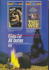 Bug / The Wiz CIC Video Pre-Cert Magazine Advert