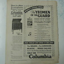 vintage advertise COLUMBIA Radio-Graphophone 1930s