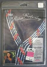 Bucilla Silk Ribbon Embroidery Wearable Transfer Kit Country Fragrance No. 33559