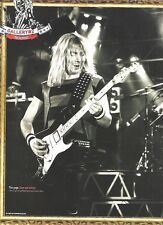 IRON MAIDEN Adrian in the gallery magazine PHOTO / mini Poster 11x8""