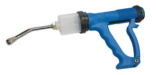 Blue Plastic Automatic Drench Gun Equine Worming Sheep