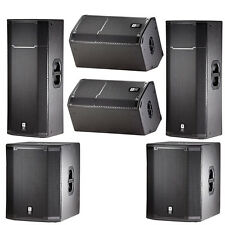 JBL PRX Passive DJ PA Speaker Sub Monitor System Bundle PRX425 PRX412M PRX418S