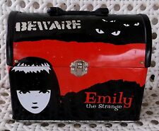 Rare! Emily the Strange Tin/Metal Lunch Box