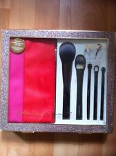 No7 Brush Set Gift Set With Cosmetic Make Up Brush Case Brand New