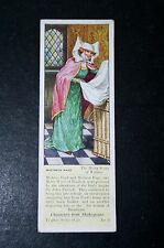 The Merry Wives of Windsor   Shakespeare  Mistress Page  1930's Vintage Card