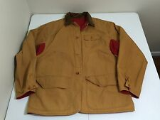 Vtg RALPH LAUREN POLO COUNTRY Reversible Canvas Barn Hunting FIELD JACKET / L