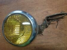 LQQK! Vintage Old FOG AUTO LAMP LIGHT Antique AMBER 6v Car Truck Hot Rat Rod