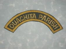 "Ouachita Parish Sheriff's Patch - rocker - 4 1/2"" x 2"""