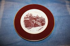 Collector Plate House, Shenango China, New Castle, Pa. / Red
