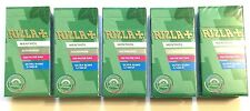 5 x RIZLA MENTHOL EXTRA SLIM FILTER TIPS 5mm CIGARETTE TOBACCO BACCY 600 Tip