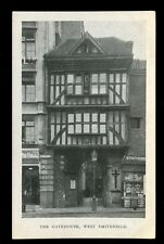 LONDON West Smithfield The Gatehouse c1900s PPC