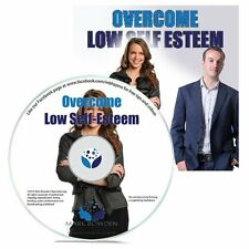 Overcome Low Self Esteem Hypnosis CD + FREE MP3 VERSION learn to love yourself