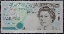 BANK OF ENGLAND - 1990 FIVE POUNDS - Uncirculated - Pick #382 - NCC