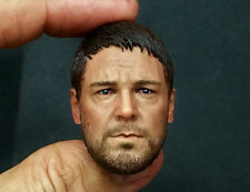 1/6 Roman General Roma Gladiator Russell Crowe Head Sculpt ACI 300 Hot Toys Body