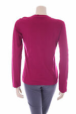 Ladies Bordeaux Pink Buddha Jumper Size S Womens Top Stretch T-Shirt Jersey