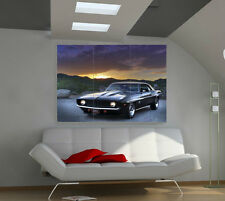 "Muscle Car Huge Art Giant Poster Wall Print 39""x57"" b625"