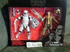 Star Wars The Force Awakens The Black Series 6in Poe & Riot Control StormTrooper