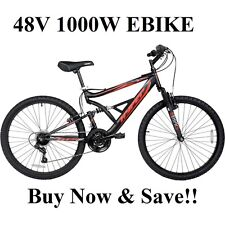 Super Fast Off Road 48V 1000W Electric Mountain Bike Ebike #2