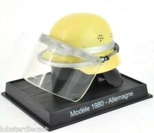1980 GERMANY ALLEMAGNE FIRE HELMET, scale model by Del Prado