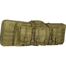 "New Valken Tactical 42"" Double Carbine Rifle Gun Carry Case Bag - Desert Tan"