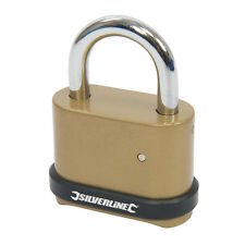 Zinc Alloy Combination Padlock 4-Digit 50mm  Security Combination