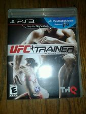 UFC Personal Trainer The Ultimate Fitness System GAME PlayStation 3 w/ Leg Strap
