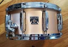 Tama Bell Brass 6.5X14 Snare Drum, special custom configuration with MSL36 lugs