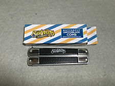 Metal Pocket Folding Butterfly Stiletto Switchblade Knives Comb - Suavecito