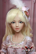 1/3 bjd girl Gen X Mina nude doll tan skin with faceup & body blushing ship US