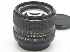 Canon New FD 50mm f/1.4 Manual Focus Lens from Japan